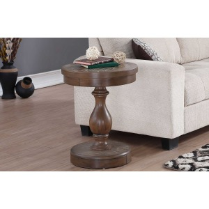 "20"" Round End Table"
