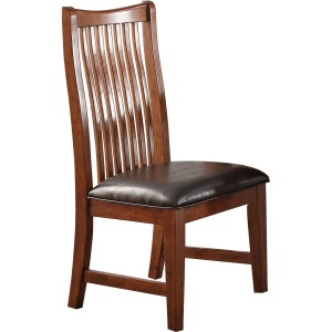 Colorado Raised Slat Back Side Chair