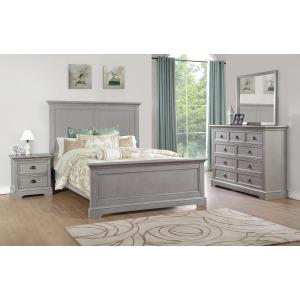 Tamarack Queen Panel Bed - Gray