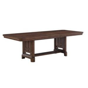 "Kentwood 96"" Trestle Table w/18"" Leaf"