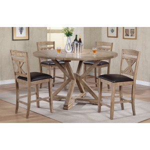 5pc Grandview Round Table Set