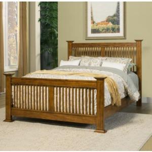 Colorado Slat Bed King