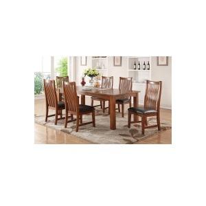"84\"" Leg Table w/ 18\"" Butterfly Leaf & Side Chair"