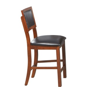 "24"" Cushioned Back Barstool"