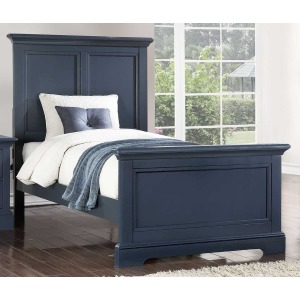 Tamarack Twin Panel Bed - Blue