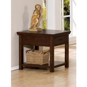 Willow Creek 1-Drawer End Table