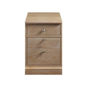 "Berkeley 15"" 2-Drawer Mobile File - Aged Oak"