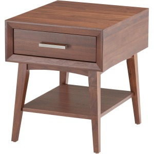 "Venice Med Wal 20"" End Table"