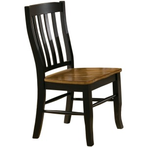 Quails Run Rake Back Side Chair