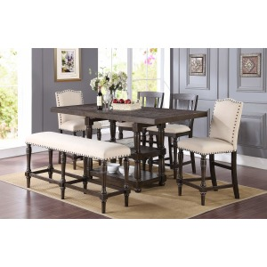 """78\"""" Tall Table w/ 18\"""" Butterfly Leaf"""