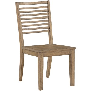Ellis Curved Slat Back Chair
