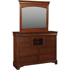 "58"" 10-Drawer Tall Dresser and 45"" Youth Mirror"