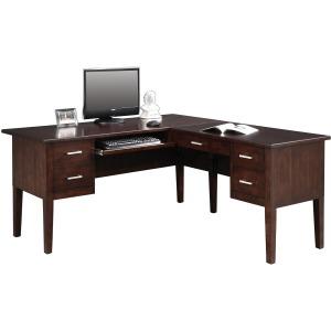 "62"" Desk with 40"" Return"