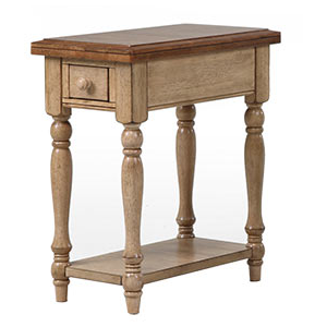 1-Drawer Chairside Table