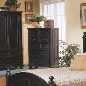 """Cape Cod 38"""" 5-Drawer Chest"""