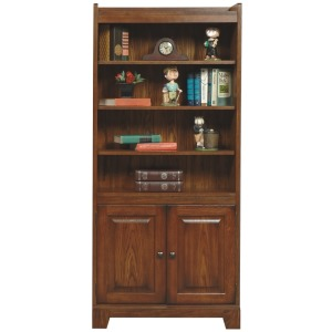 "Zahara 72"" Bookcase w/ Doors"