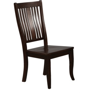 Slat Back Arm Chair
