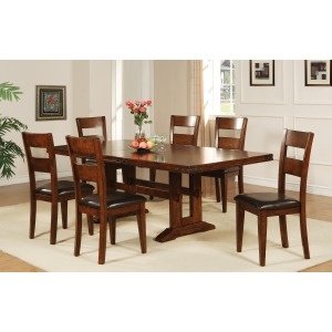 """92"""" Trestle Table with 18"""" Butterfly Leaf"""