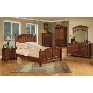 Cape Cod Panel King Bed