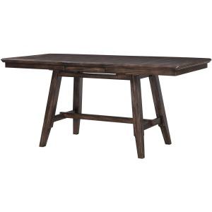 """Daphne 78"""" Tall Table w/ 12"""" Leaf"""
