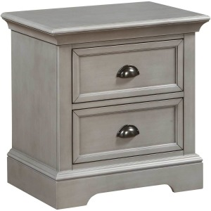 Tamarack 2 Drawer Nightstand - Gray