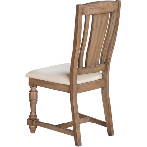 Xcalibur Slat Back Side Chair - Gray