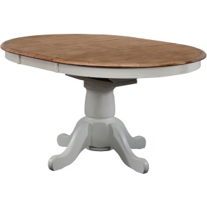 "Pacifica 57"" Pedestal Table with 15"" Butterfly Leaf"