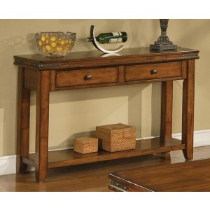 Mango 2 Drawer Sofa Table