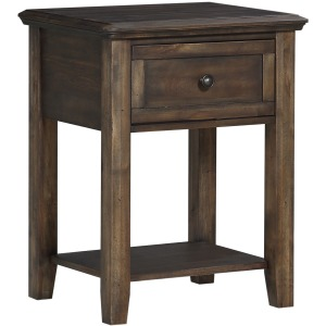 Daphne 23in 1-Drawer Nightstand