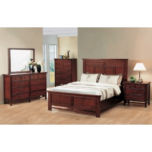 Willow Creek Panel Bed Suite