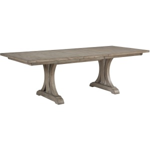 "Xena 96"" Trestle Table w/ 20"" Leaf"