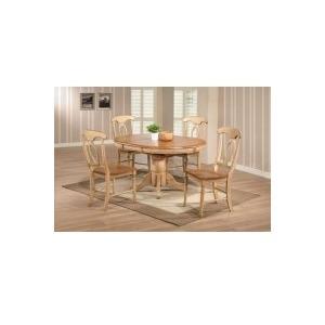 """57\"""" Quails Run Pedestal Table & Chair"""