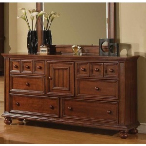Cape Cod 6 Drawer  Dresser - Chocolate