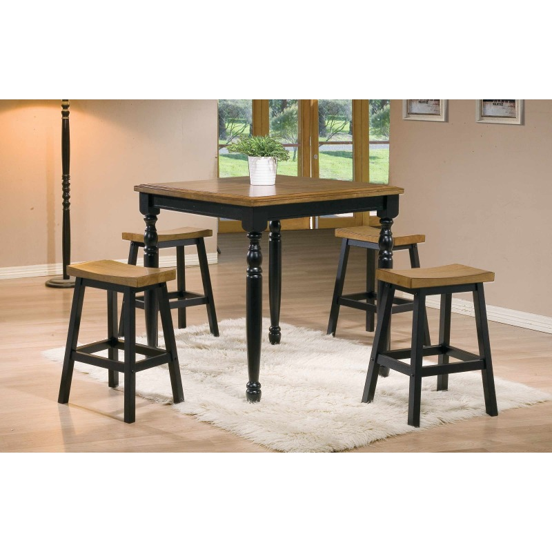 36-inch Square Tall Table