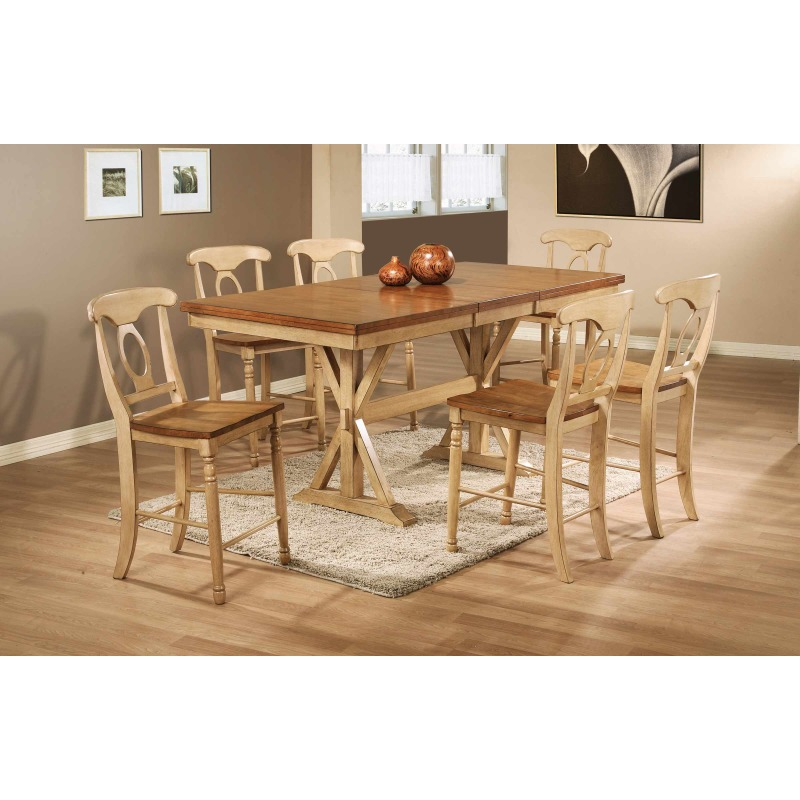 78-inch Tall Table with 18-inch Butterfly Leaf