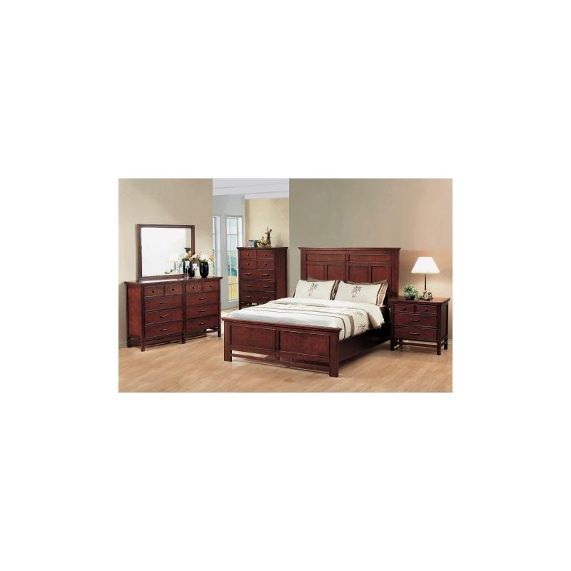 Willow Creek Panel Bed Suite