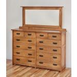 American Craftsman 12-Drawer Dresser