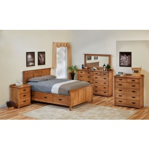 American Craftstman Queen Bed