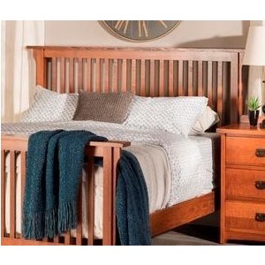 American Mission King Slat Headboard