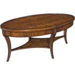 Oval Empire Cocktail Table