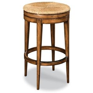 Rush Seat Bar Stool