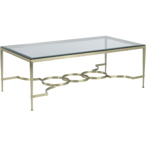 Brass Cocktail Table