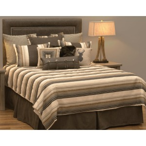 Adobe Quarry 9 PC Duvet Bedding Set - Super Queen