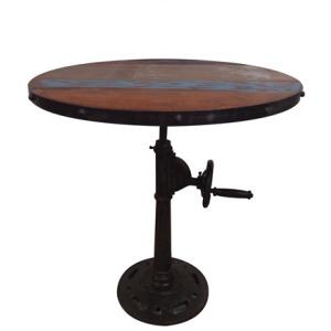 Mango Wood Adjustable Height Table