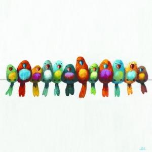 Birds on a Wire III
