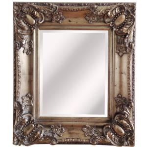 Antique Silver Framed Mirror