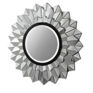 3-D Wall Sunburst Mirror