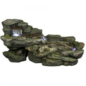 Cascading Rock Fountain