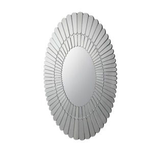 Ovals on Ovals Wall Mirror