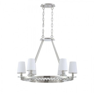 6-Lt Island Chandelier, Plated